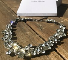 Sweet Deluxe Collier Necklace silver-colored-white