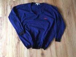 Sweewe Maglione oversize nero-blu