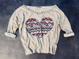 Terranova Camicia fantasia multicolore Cotone