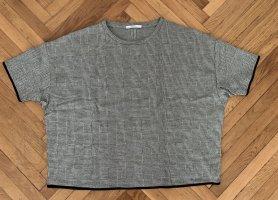 Zara Top extra-large gris