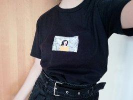 T-shirt Bemalt Frau