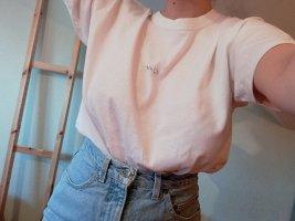 T-shirt Bestickt Glitzer C*unt Oversized
