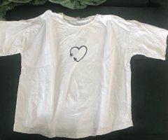 T-Shirt Herz Print