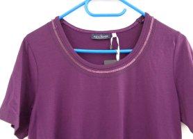 T-shirt Longshirt edel mit Pailetten Gr. S / 38 neu mit Etikett