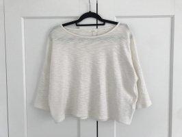 T-Shirt Longsleeve in Creme
