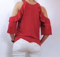 T-Shirt Mango Gr. S wie neu/ Oberteil/ rot/ bluse
