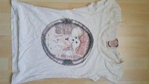 T-Shirt mit aufgesetzter Schleife Gr. M