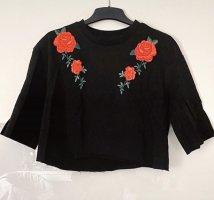 T-shirt mit Blumendesign gr. XS/S