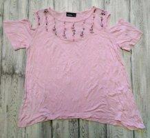T-shirt mit Cutouts Gr. 38 /40