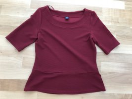 s.Oliver T-shirt karmijn Polyester