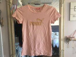 T-Shirt von Puma in apricot Größe 36