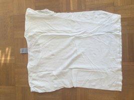Camicia oversize bianco-nero Tessuto misto