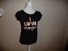 T-shirt - Wrangler - schwarz - GR. XS - Neu
