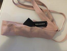 Hallhuber Ceinture de taille or rose cuir