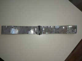 Bijou Brigitte Waist Belt silver-colored