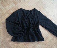 SheIn Kanten blouse zwart