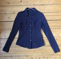 Calvin Klein Jeans Hemdblouse donkerblauw Katoen