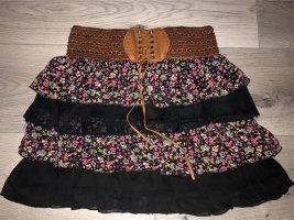 Blind Date Miniskirt multicolored