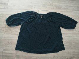 Takko maxi blue Shirt mit charms, Sterne Größe 50 52
