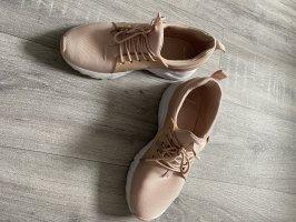 Tally Weijl Sneaker alta rosa pallido