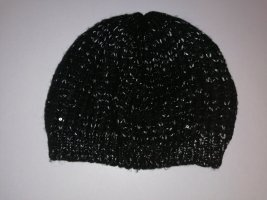 Tally Weijl Knitted Hat black-silver-colored