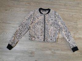 Tally Weijl S Jacke Blouson leopard beige weiß schwarz