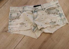 Tally Weijl Hot Pants white-pale blue