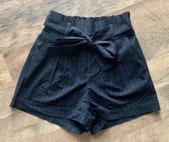 Tally Weijl Shorts dark blue-white