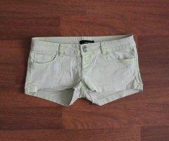 Tally Weijl Shorts Hotpants Gr. 40 gelb