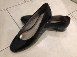 Tamaris Patent Leather Ballerinas black synthetic