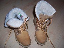 Tamaris active Schnürstiefelette Gr. 36 37 safran Winter Boots