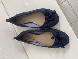 Tamaris Ballerinas navy-blau Größe 37