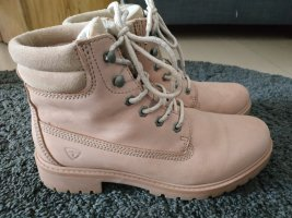 Tamaris Ankle Boots dusky pink leather