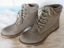 Tamaris Ankle Boots silver-colored-grey leather