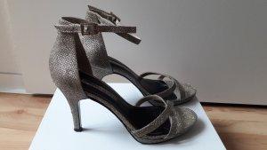 TAMARIS High Heels Sandalette goldfarben Größe 40