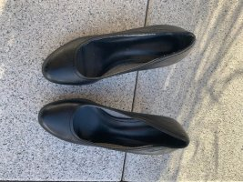 Tamaris Pumps High Heels schwarz Leder Gr. 37