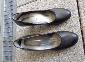 Tamaris Pumps High Heels schwarz Leder Gr. 38 Top
