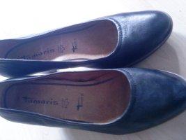 Tamaris Buty na platformie czarny Skóra