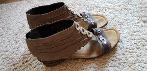 Tamaris Sandalias cómodas taupe-violeta grisáceo