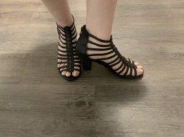 Tamaris Romeinse sandalen zwart