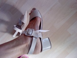 Tamaris Sandaletten beige Lack 40