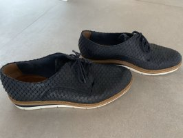 Tamaris Wingtip Shoes dark blue
