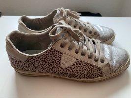 Tamaris Sneaker beige silber 38