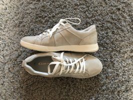 Tamaris Sneaker in Beige/Silber, leicht schimmernd