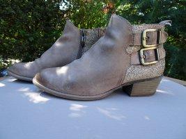Tamaris Stiefelette,Ankle Boot,38,beige/Gold,Chelsea