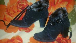 Tamaris Botines de invierno negro