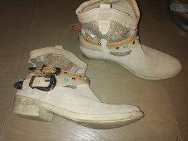 Tamaris Western Booties beige