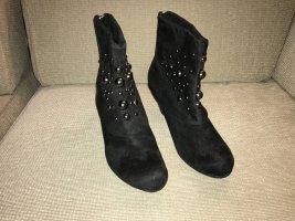 Tamaris Stiefeletten Boots 41 schwarz ungetragen