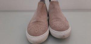 Twist & Tango Wciągane buty za kostkę jasnobrązowy