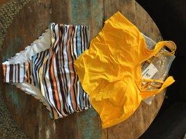 Beachsissi Tankini gold orange polyamide